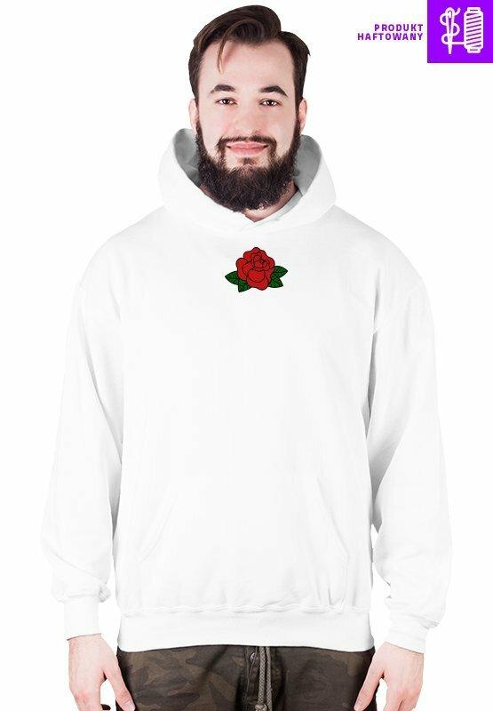 bluza biała rose