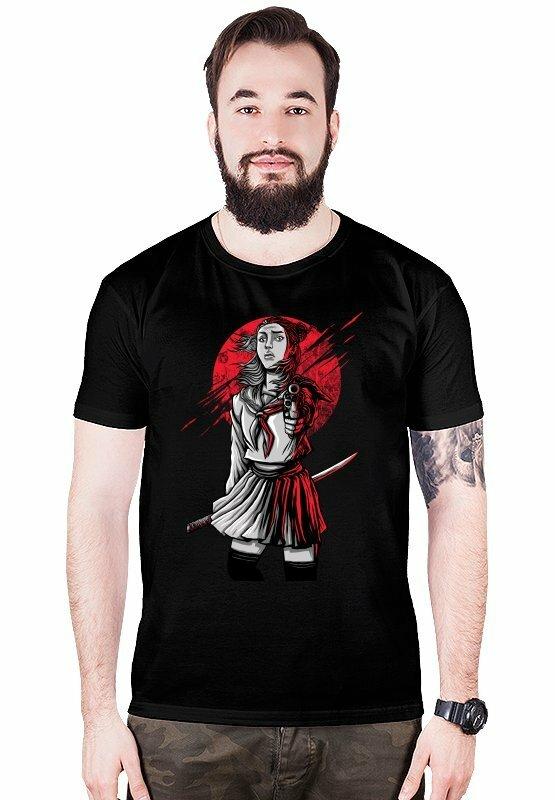 c57acba96 Teetres.com - Koszulki z własnym nadrukiem, kubki, bluzy, plakaty i wiele  więcej... - Samurai The Walking Dead Japonia - men's t -shirt